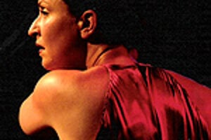 Sandra La Chipsa danced in the Flamenco Festival in Bratislava on December 1.