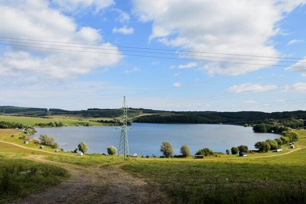 The Ľuboreč water dam is situated in the Ľuboreč village near Lučenec, central Slovakia.