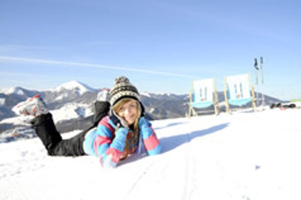 Spring-like temperatures prevailed in many ski resorts in mid February.