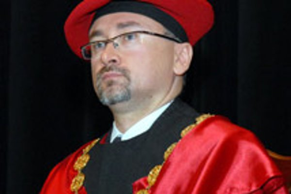 René Matlovič, rector of PU