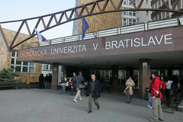 Part-time courses at Bratislava's University of Economics will remain free.