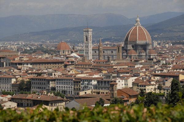 Florence, capital of Italy's Tuscany region.