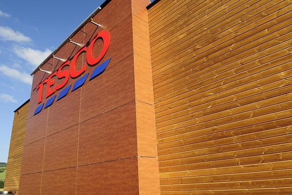The first wooden Tesco opened in Rajec.