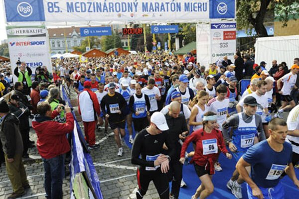 The Košice marathon attracts thousands every year.