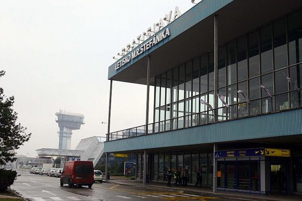 Bratislava Airport is the busiest in Slovakia.