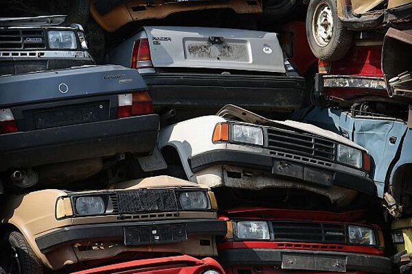 The car-scrapping bonus has helped boost loans to buy new cars.
