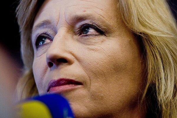 Iveta Radičová resigned as an MP.