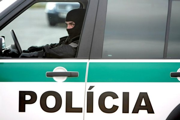 Elite policemen are among those being held after a brothel near Bratislava was raided.