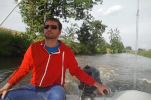 At the Baťa Canal everybody can become a captain.