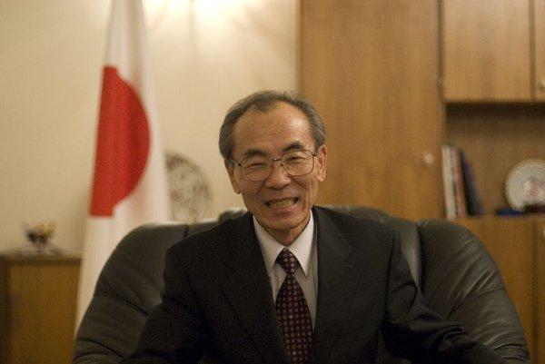 Yoshio Nomoto, the Japanese Ambassador to Slovakia