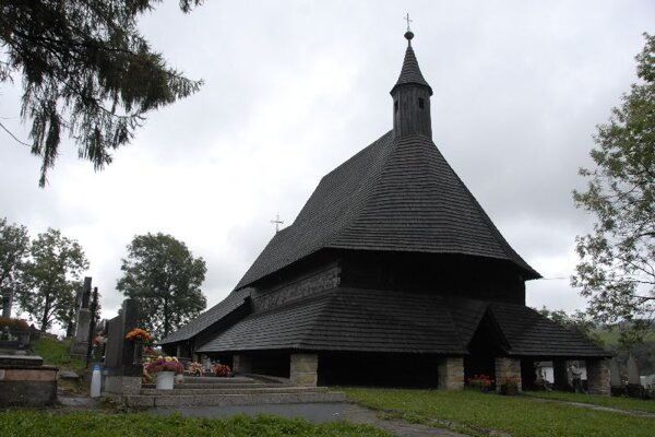 UNESCO listed: Tvrdošín's wooden church.