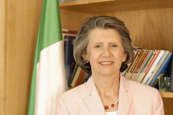 Italian Ambassador Brunella Borzi