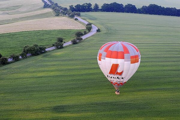 Balloonists in Košice prepare to take to the skies.