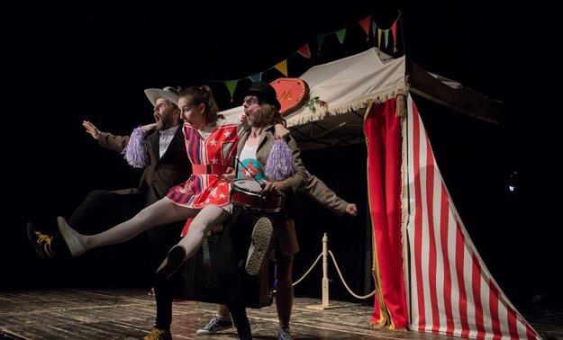 Stories from a caravan, accompanying programme at Divadelná Nitra 2015