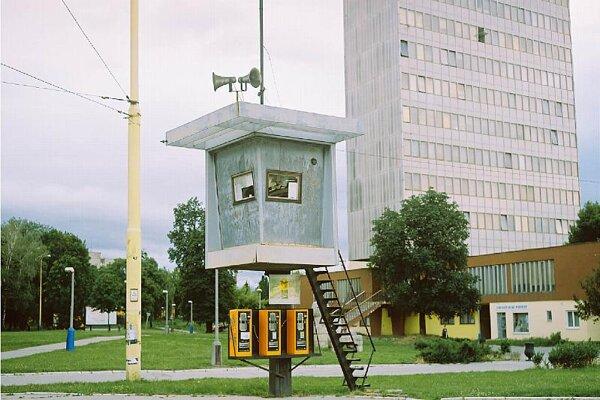Staničné square in Košice.