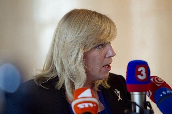 Prime Minister Iveta Radičová faces opposition to the changes.