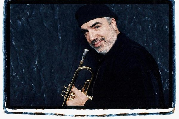 Trumpet player Randy Brecker, photographed by Merri Cyr