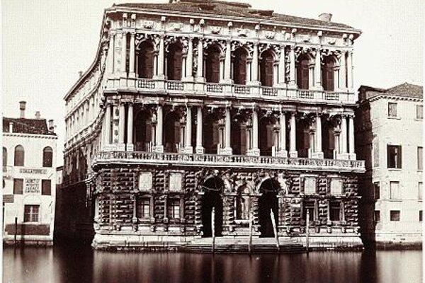 Palazzo Ca' Pesaro, Venice.