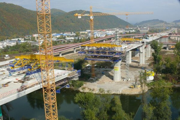 Slovakia's road-building plans are being probed.