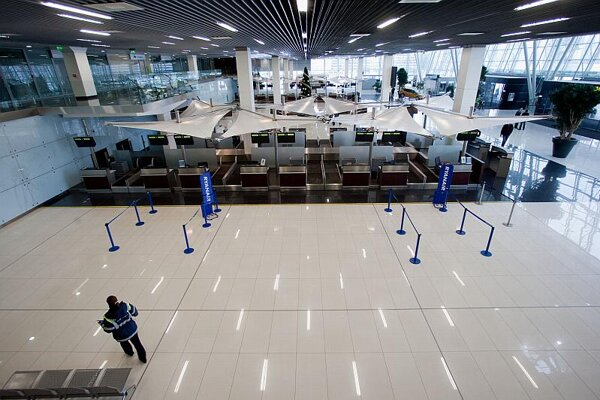Bratislava Airport's newdepartures terminal.