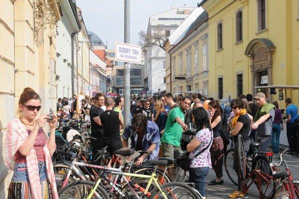 Dobrý Trh near city centre Bratislava.