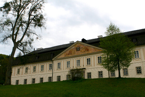 The unique Baroque mansion has four entrances, 12 chimneys, seven arcades, 52 rooms and 365 windows.