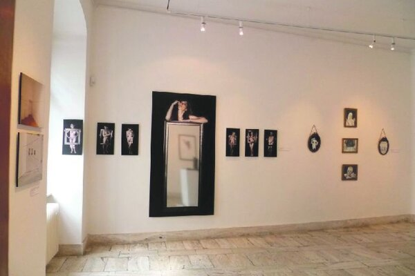 The Spanish section of the JCE exhibition at the Mirbach Palace in Bratislava.