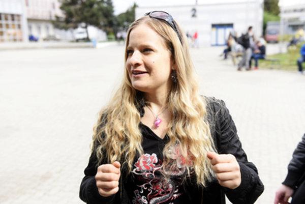 Slovak astrobiologist Michaela Musilová