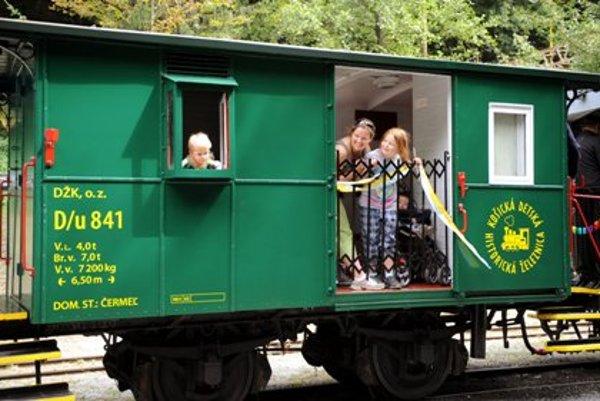 Children's Railway in Košice-Čermeľ.