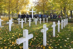 WWI commemoration, ceremony