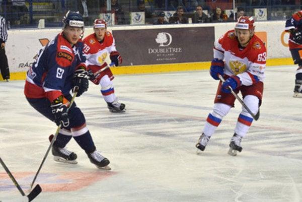 Euro Hockey Challenge match between Slovakia-Russia, played in Poprad.