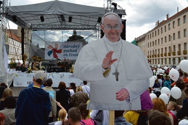 The pro-life march was organised mainly by the Roman Catholic Church.