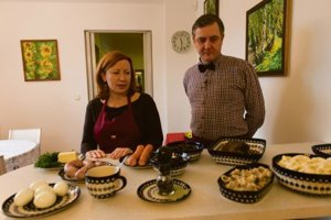 Polish Ambassador Tomasz Chłoń and his wife Jolanta enjoy cooking together.