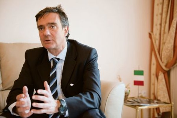 Italian Ambassador Roberto Martini