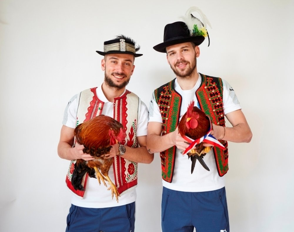 Dušan Švento (left) and Michal Ďuriš
