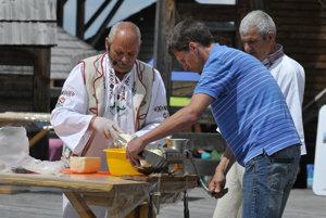 Nationwide shepherd's feast Ovenálie in Východná.