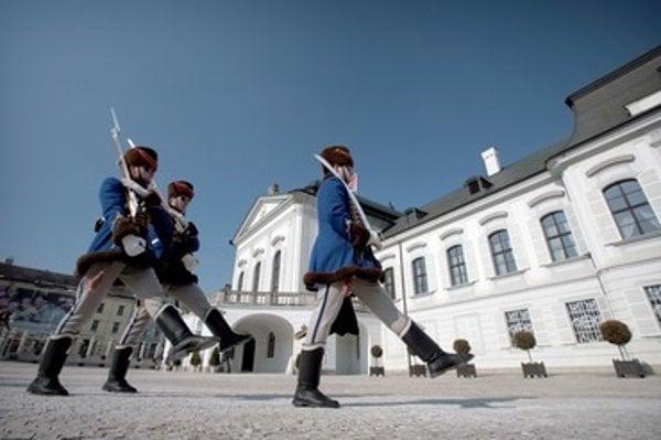 Presidential Palace in Bratislava.