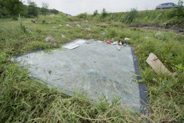 Site of the crash of Slovak bus on June 22, 2016 in Niš, Serbia - illustrative stock photo.