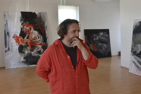 Painter Marek Ormandík
