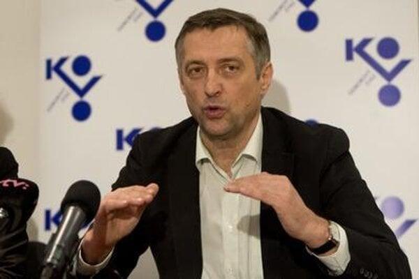 Emil Machyna of KOVO