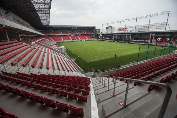 A new €30 million football stadium was opened in Trnava.