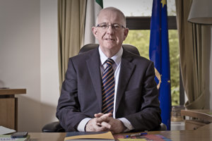 Charles Flanagan, Ireland's Minister for Foreign Affairs and Trade
