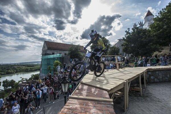 Polc races in Bratislava, illustrative stock photo.