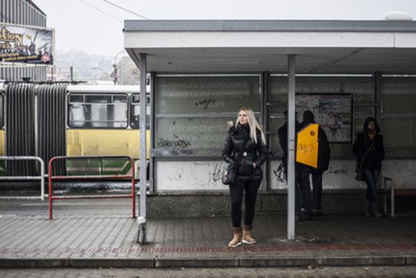 "A public transport stop, a popular ""crime scene"" for the fecal phantom. Illustrative stock photo"
