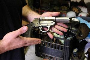Handgun, illustrative stock photo