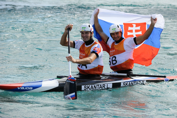 Ladislav and Peter Škantár became Olympic champions in water slalom at the 2016 Summer Olympic Games in Rio de Janeiro, Brazil.