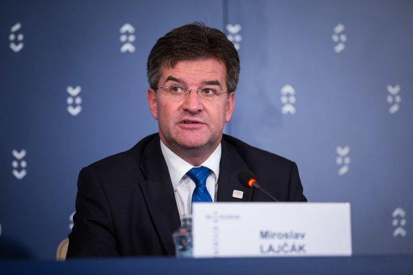 Slovak Foreign Affairs Minister Miroslav Lajčák.
