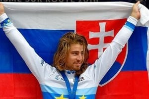 Sagan wins in Plumelec at the European Championship.