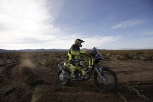 Štefan Svitko in Dakar Rally, January 6.