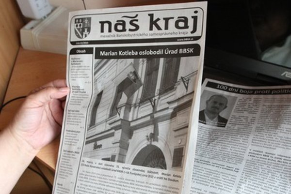 Locla newspapers, illustartive stock photo